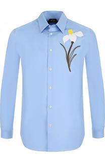 Хлопковая рубашка с аппликацией No. 21