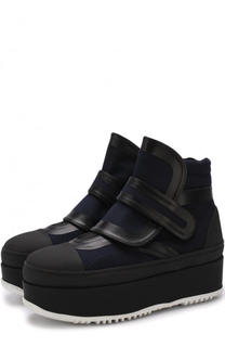 Комбинированные ботинки на платформе Marni