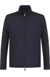 Двусторонняя куртка на молнии с воротником-стойкой Canali