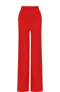 Однотонные расклешенные брюки со стрелками Roland Mouret