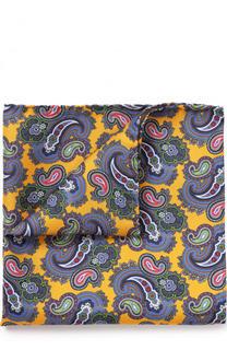 Шелковый платок с узором пейсли Eton