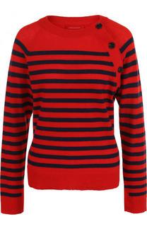Кашемировый пуловер в полоску с круглым вырезом Zadig&Voltaire Zadig&Voltaire
