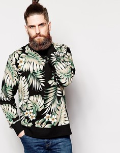 Черный свитшот с пальмовым принтом Penfield - Черный