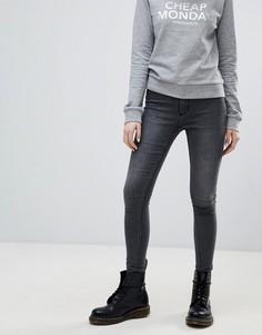Облегающие джинсы Cheap Monday - Серый