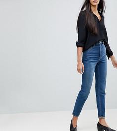 Джинсы в винтажном стиле с завышенной талией ASOS TALL FARLEIGH - Синий