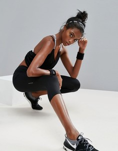 Черные капри Nike Running Dri-Fit Essential - Черный