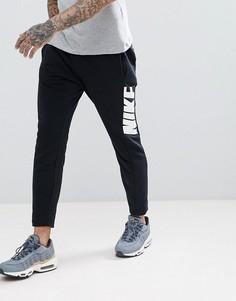 Черные зауженные джоггеры Nike Hybrid 885947-010 - Черный