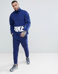 Синий спортивный костюм Nike Hybrid 886511-429 - Синий