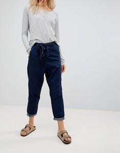 Суженные книзу джинсы с витым поясом Maison Scotch - Темно-синий