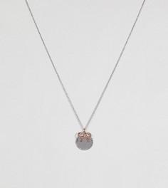 Ожерелье в винтажном стиле с монетой и бантом Olivia Burton - Мульти