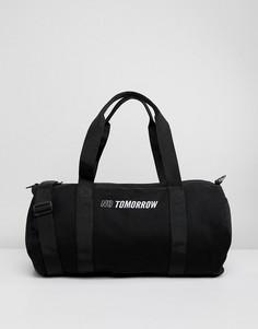 Черная сумка с вышивкой No Tomorrow ASOS - Черный