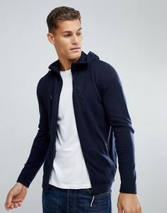 Трикотажная куртка Tom Tailor - Темно-синий