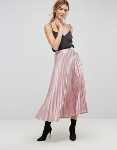 Юбка с плиссировкой Uttam Boutique - Розовый