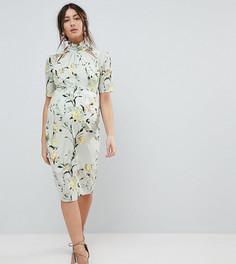 Платье-футляр с цветочным принтом Hope & Ivy Maternity - Мульти