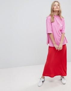 Повседневное платье макси в стиле колор блок ASOS - Мульти