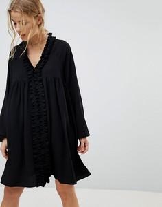 Черное свободное платье Pimkie - Черный