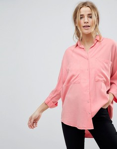 Рубашка с карманом Pimkie - Розовый