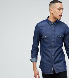 Джинсовая рубашка Jacamo TALL - Синий