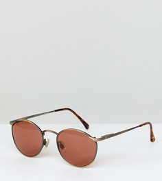 Круглые розовые солнцезащитные очки Reclaimed Vintage эксклюзивно для ASOS - Розовый