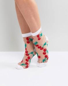 Полупрозрачные носки ASOS - Белый