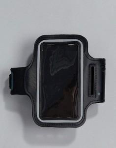 Спортивный браслет на предплечье с чехлом для iPhone 6 New Look - Черный