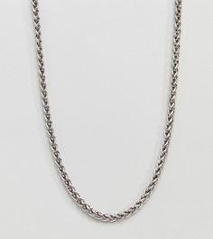 Ожерелье DesignB Palma эксклюзивно для ASOS - Серебряный