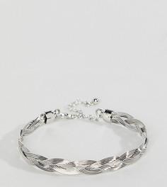 Серебристый браслет-манжета DesignB эксклюзивно для ASOS - Серебряный