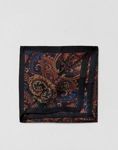 Платок для нагрудного кармана с принтом пейсли ASOS - Мульти