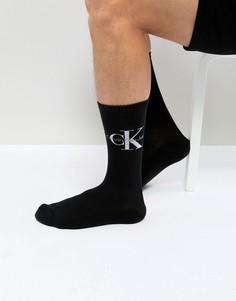 Носки с логотипом Calvin Klein - Черный