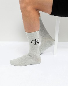 Носки с логотипом Calvin Klein - Серый