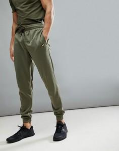 Зеленые меланжевые джоггеры Lyle & Scott Fitness Hislop 3 - Зеленый