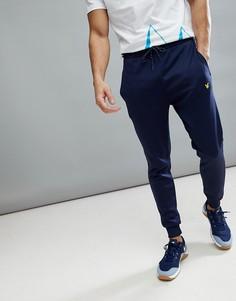 Темно-синие спортивные штаны Lyle & Scott Fitness Lynch 4 - Темно-синий