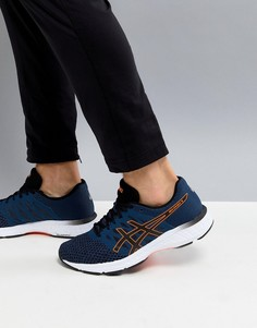 Темно-синие кроссовки Asics Running Gel Exalt T7E0N-4990 - Темно-синий