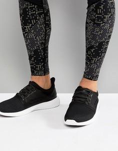 Черные кроссовки Asics Running Gel Kenun Lyte T830N-9016 - Черный