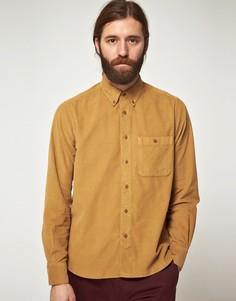 Вельветовая рубашка с длинными рукавами YMC - эксклюзивно онлайн - Коричневый