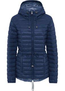 Куртка стеганая легкая (ночная синь/дымчато-синий) Bonprix