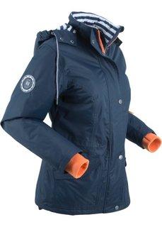 Куртка функциональная на трикотажной подкладке (темно-синий) Bonprix