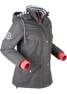 Куртка функциональная на трикотажной подкладке (шиферно-серый) Bonprix