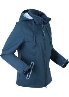 Куртка софтшелл легкая, в комплекте сумочка для куртки (темно-синий) Bonprix