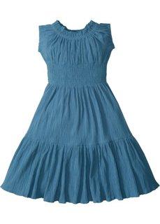 Платье (синий джинсовый) Bonprix