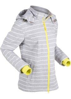 Куртка софтшелл (серый меланж) Bonprix