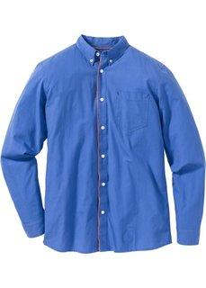 Рубашка Regular Fit с длинным рукавом (нежно-голубой) Bonprix