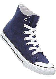Высокие кеды (синий) Bonprix
