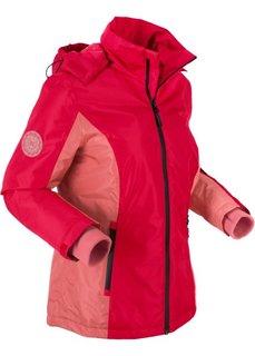 Куртка для активного отдыха, подкладка с рисунком (темно-красный) Bonprix