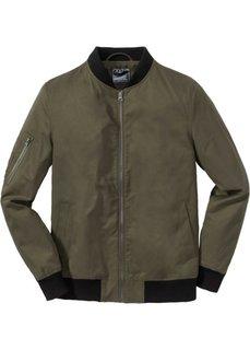 Куртка-блузон Regular Fit (темно-оливковый) Bonprix