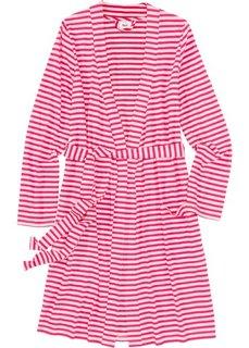 Трикотажный купальный халат (ярко-розовый/розовый) Bonprix