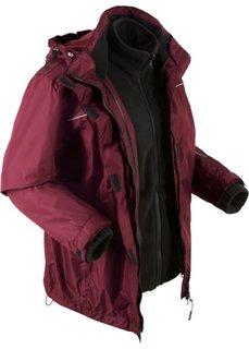 Куртка функциональная 3 в 1 (кленово-красный) Bonprix