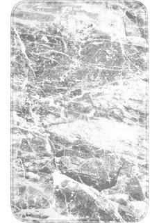Коврик для ванной Мрамор, пена с эффектом памяти (серый) Bonprix