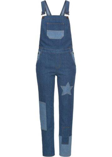 Комбинезон джинсовый (синий «потертый»)