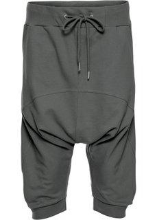 Капри в гаремном стиле (темно-серый) Bonprix